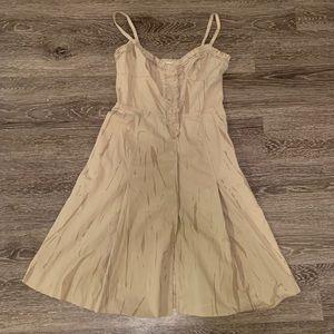 Prada A-line Strapless Dress Sweetheart Neckline
